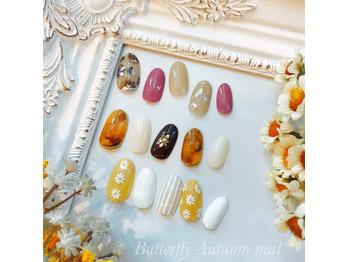 """茅ヶ崎にあるマツエク・ネイルサロン""""バタフライ茅ヶ崎店""""【butterfly】が日常のケアに役立つ情報を発信するブログ~Butterfly Autumnnail☆~"""
